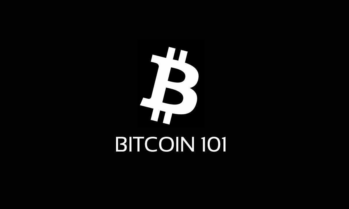 Bitcoin ehk BTC ehk krüptoraha. Lühendatult on bitcoin ka BTC. Pilt on illustreeriva Bitcoin 101 logoga