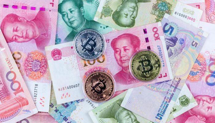 hiina valuuta koos krüptorahaga