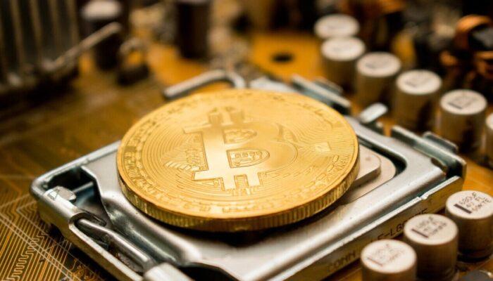 Bitcoini kaevandamise pilt