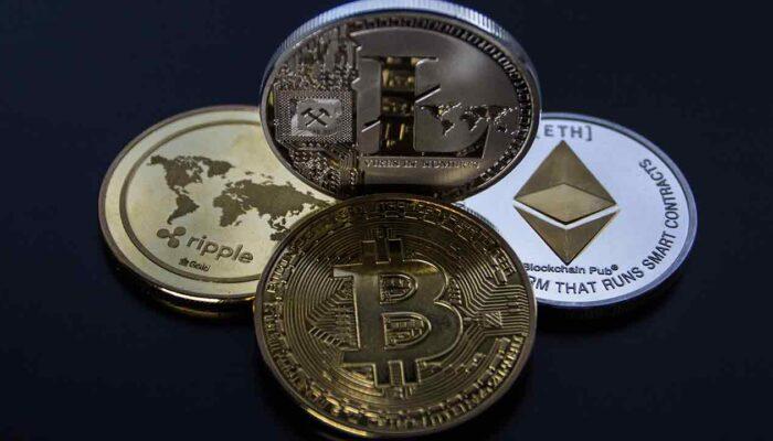 krüpto coin ja krüpto token. Pilt on illustreeriv seletamaks coin ja token erinevusi