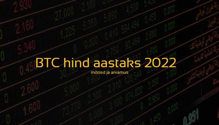bitcoini hind aastaks 2020. Bitcoini hinnaliikumine ja potentsiaalsed stsenaariumid