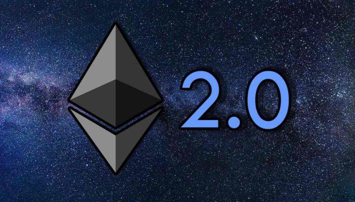 Pildil on Ethereum 2.0 logo, mis illustreerib teemat Ethereum 2.0 plokiahelal juba üle 1,5 miljoni ETH