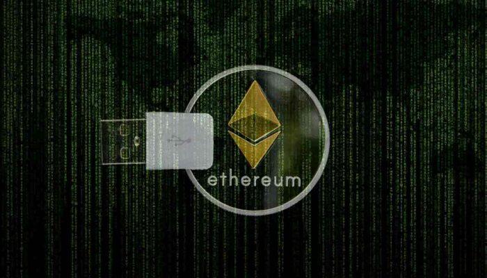 Pildil on Ethereumi münt, mis illustreerib teemat Ethereum sai 5 aastat vanaks - heidame pilgu tagasi