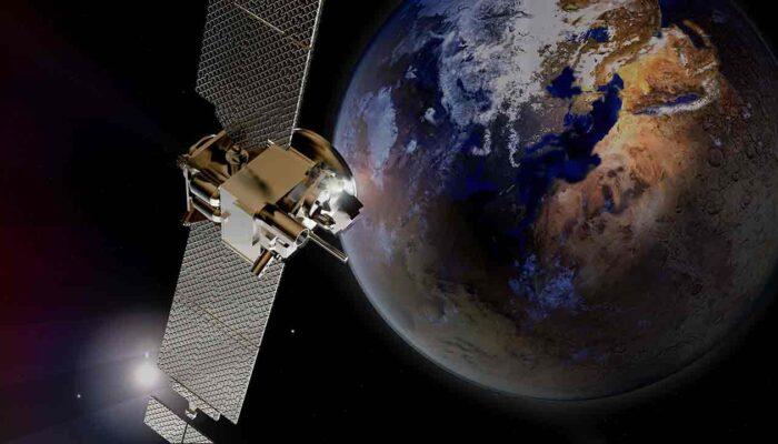 Pildil on satelliit, mis illustreerib teemat Venezuelas läkitati Bitcoini satelliit